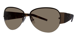 Michael Kors M2421S Dark Brown w/Dark Brown Lenses