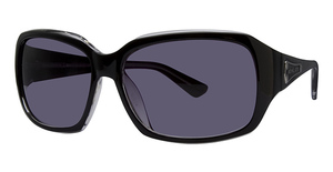 Michael Kors M2667S Black Crystal w/Smoke Fade Lenses