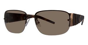 Michael Kors M2420S Dark Brown w/Smoke Brown Lenses
