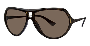 Michael Kors M2422S Dark Tortoise w/Smoke Brown Lenses