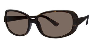 Michael Kors M2423S Dark Tortoise w/Smoke Brown Lenses