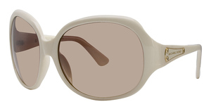 Michael Kors M2653S Cream w/Smoke Brown Fade Lenses