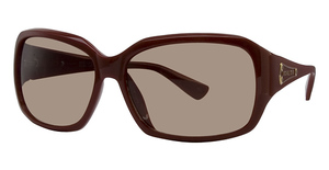 Michael Kors M2667S Deep Red w/Smoke Brown Fade Lenses