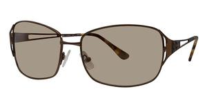 Michael Kors M2027S Dark Brown w/Brown Fade Lenses