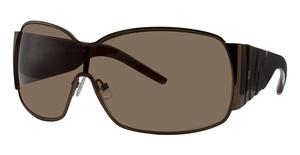 Michael Kors M2434S Dark Brown w/Smoke Brown Lenses