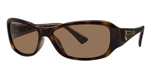 Michael Kors M2654SP Dark Tortoise w/Smoke Brown Polarized Lenses