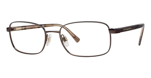 Burberry BE 1041 Sat Mocha W/Brown & Brown Check Temples