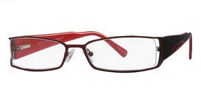Modern Optical Nettie Burgundy/Black