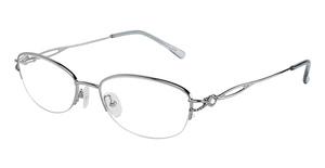 Silver Dollar Flower Eyeglasses