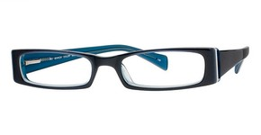 Modern Optical Bianca Blue/Aqua