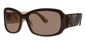 Michael Kors MKS582 Marbella Brown/Stripes