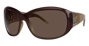 Michael Kors M2680S Cuba Dark Brown