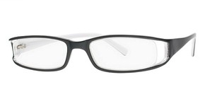 Modern Optical Sultry Black/White
