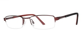 Modern Optical Columbus Matte Burgundy