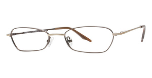 Modern Optical Rapture Brown / Gold
