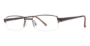 Modern Optical Pirate Brown