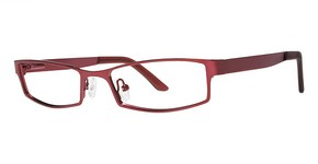 Modern Optical Sarasota Matte Burgundy