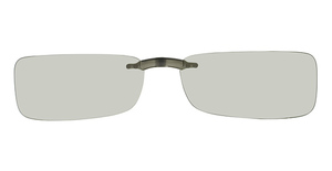Adidas a509 Clip-On Grey/Green Polarized