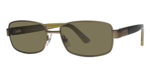Calvin Klein CK917S Light Bronze