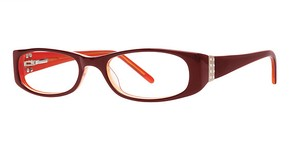 Modern Optical Joya Burgundy/Gold