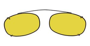 Hilco Enhancer Oblong Eyeglasses