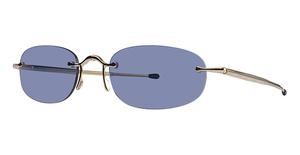 Marchon FFR02 Rmlss Rect Sun GEP/Blue Mirror