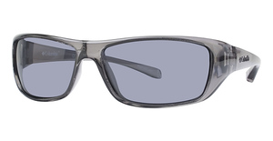 Columbia Thunderstorm Crystalline Black w/ Polarized Smoke Lenses