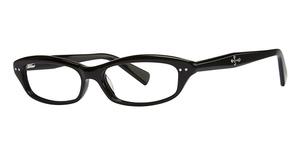 Silver Dollar Raven Eyeglasses
