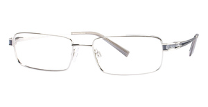 Kenneth Cole New York KC117 Silver/Navy