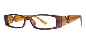 Modern Optical Bubbly brown/butterscotch
