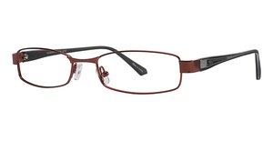 Modern Optical U743 Burgundy/Black
