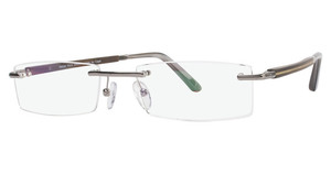 Capri Optics ART504 Gunmetal Mahogany