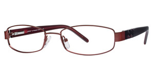 A&A Optical Lenore Burgundy