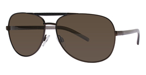Kenneth Cole New York KC4125 Semi Shiny Dark Brown