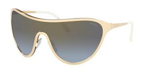 Prada 0PR 72VS Catwalk Gold with Blue Gradient Lenses