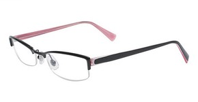 Marchon M-720 BLACK TICKLED PINK