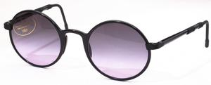 Revue Retro S1026 Black with Grey Gradient Lenses