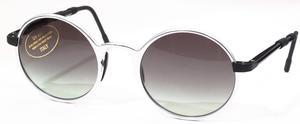 Revue Retro S1026 Ice Matte Silver with Grey Gradient Lenses