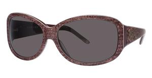 Natori Eyewear NATORI SUNWEAR SZ501 Burgundy