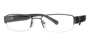 Silver Dollar Phantom Eyeglasses