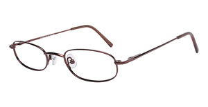 Silver Dollar Eclipse Eyeglasses