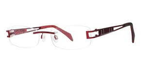 Modern Optical Tasteful Matte Burgundy