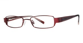Modern Optical Washington Burgundy