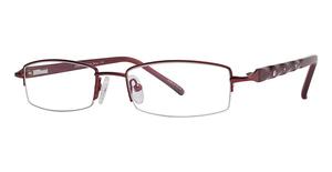 Modern Optical Liza Burgundy