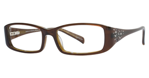 Aspex EC122 CLEAR CHOCOLATE/MARBLED BROWN