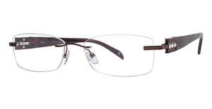 Totally Rimless TR 158 Burgundy