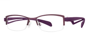 Modern Optical Opulent Matte Plum