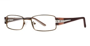 Modern Optical Sensual Matte Brown/Gold