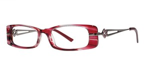 Modern Optical Vanity Burgundy/Gunmetal