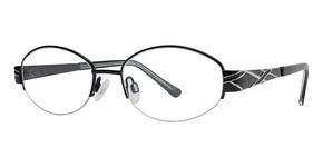 Modern Optical Intricate Black/Silver